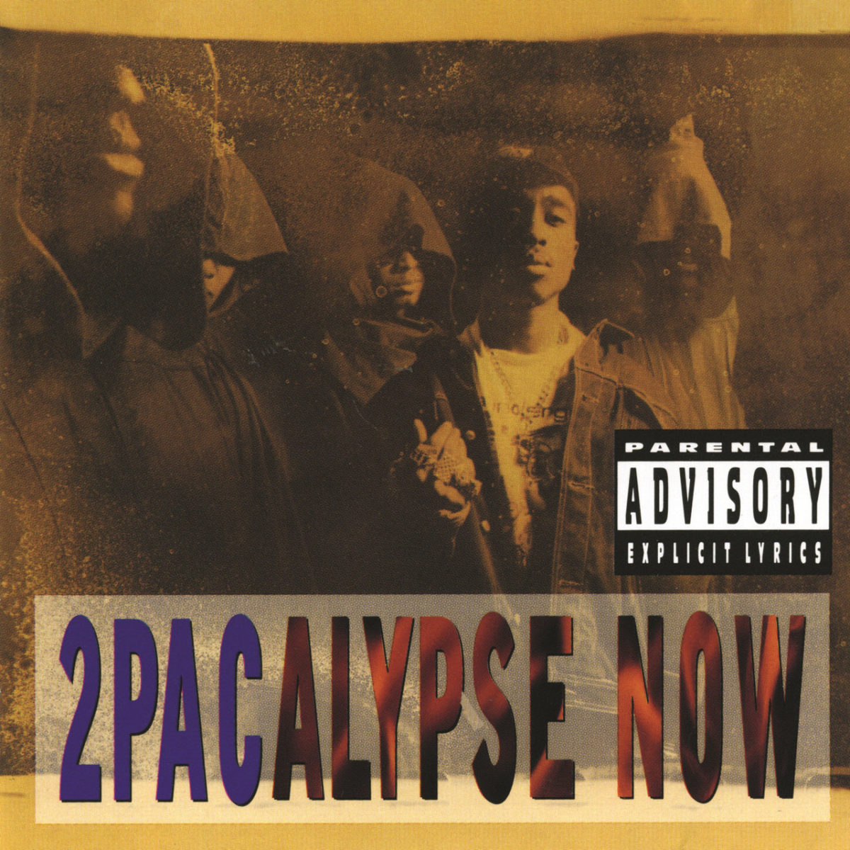 2Pac - 2Pacalypse Now (Cover)