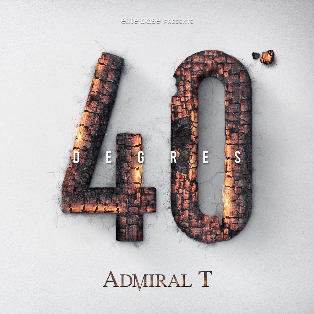 Admiral T - 40 Degrés (Cover)