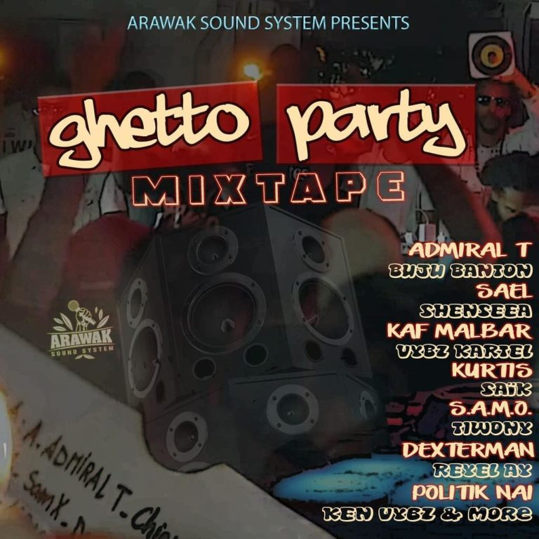 Arawak Sound - Ghetto Party Mixtape (Cover)