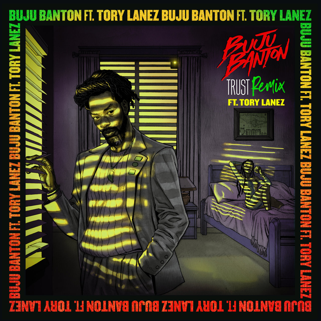 Buju Banton - Trust (Remix) (ft. Tory Lanez) (Cover)
