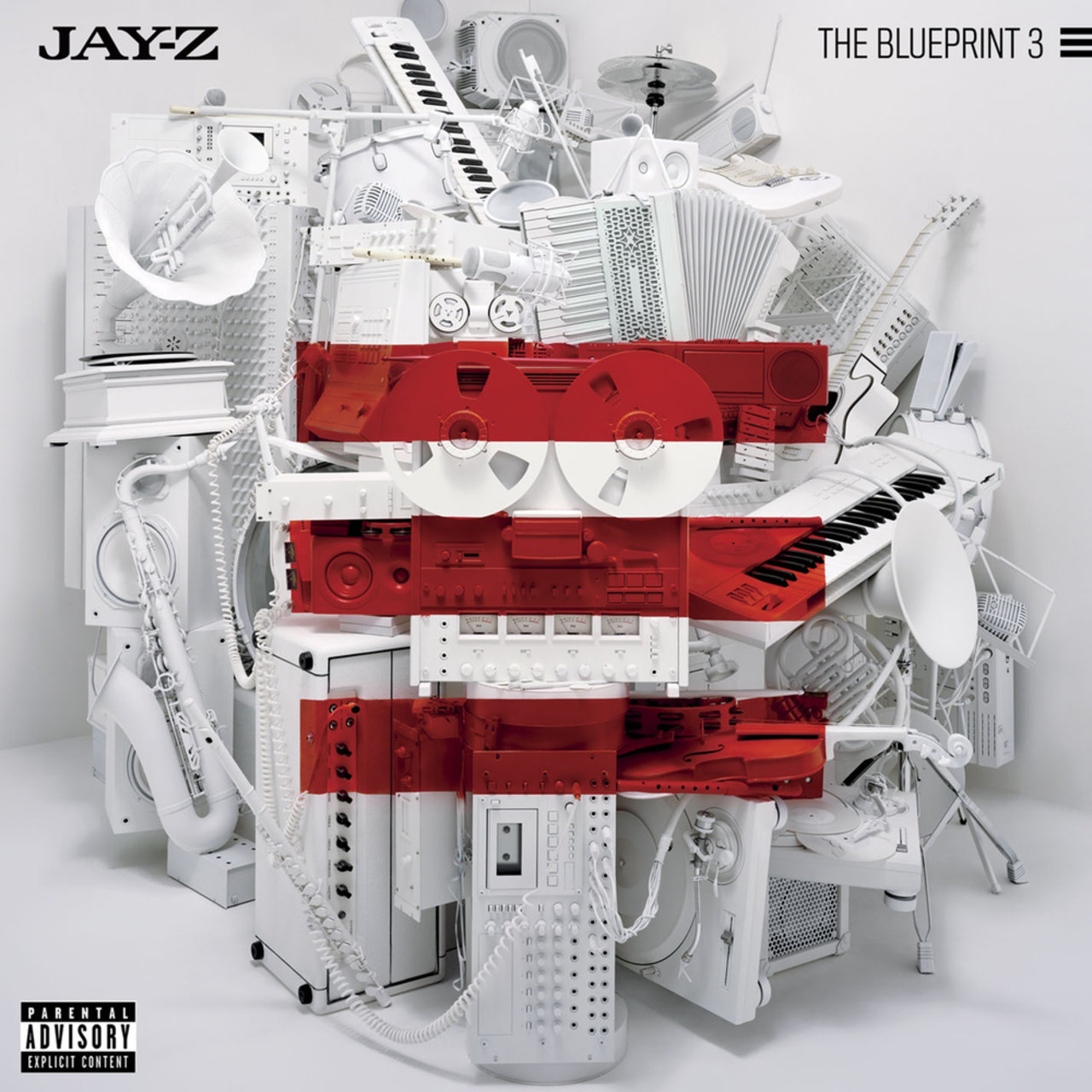 Jay-Z - The Blueprint 3 (Cover)