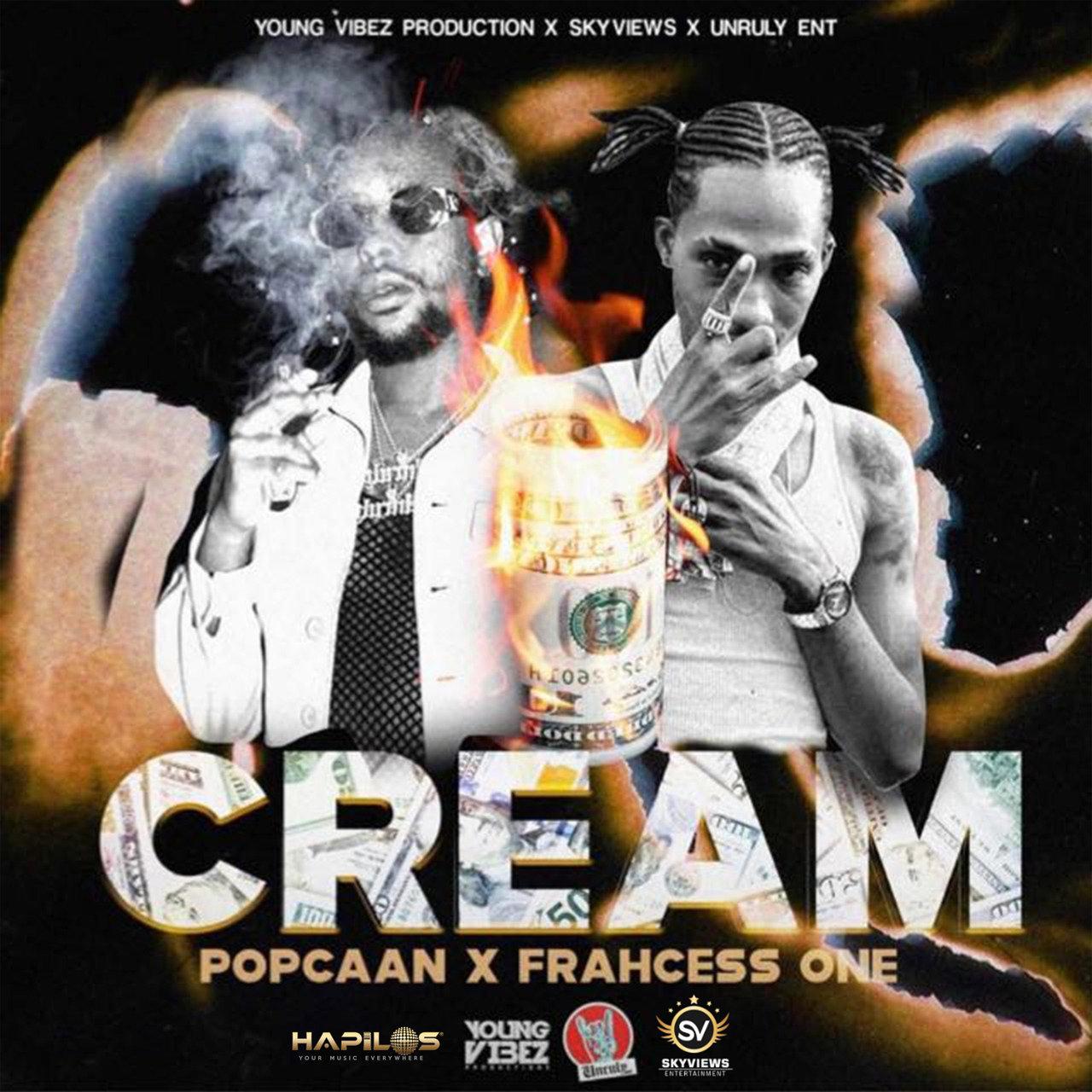 Popcaan - Cream (ft. Frahcess One) (Cover)