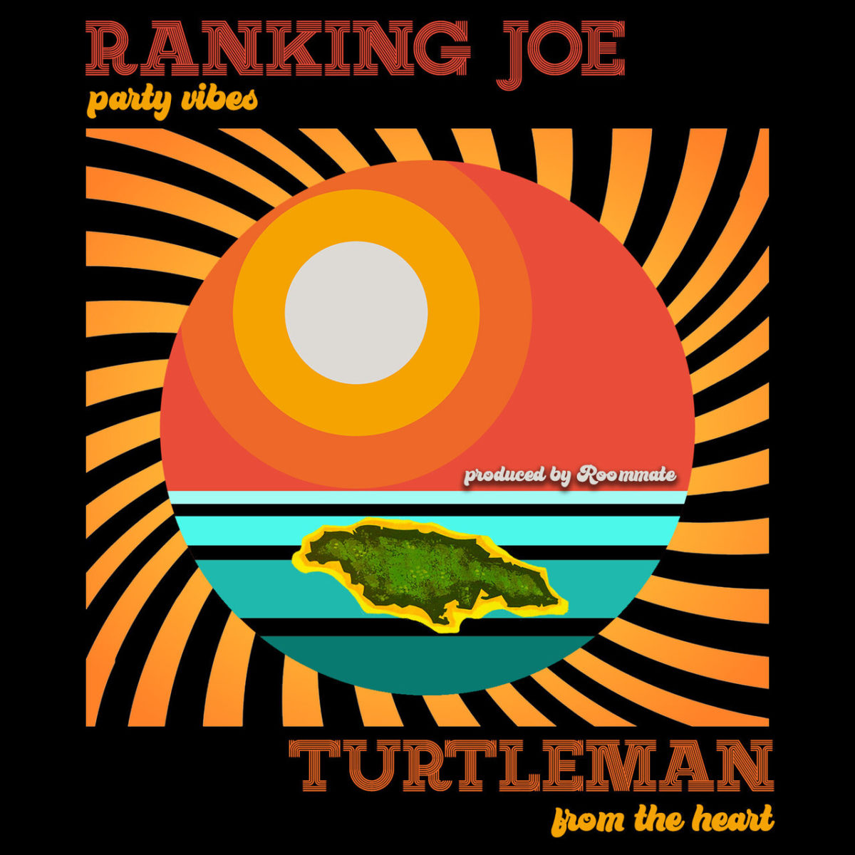 Ranking Joe and Turtleman - Party Vibes/From The Heart (Cover)