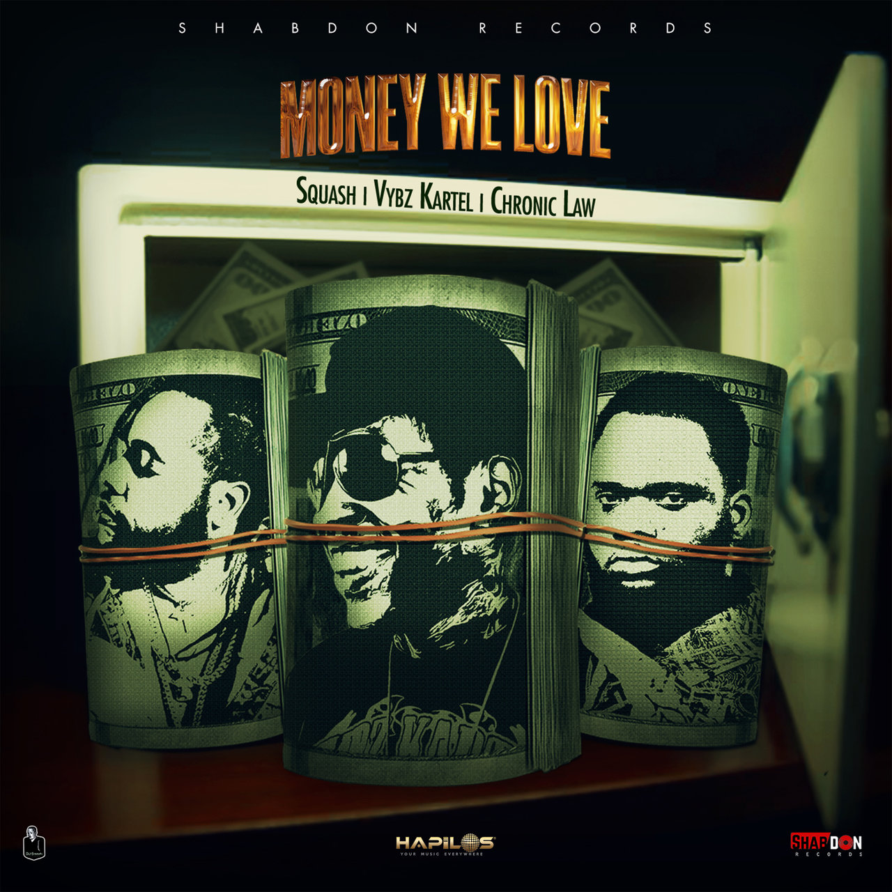 Squash, Vybz Kartel and Chronic Law - Money We Love (Cover)