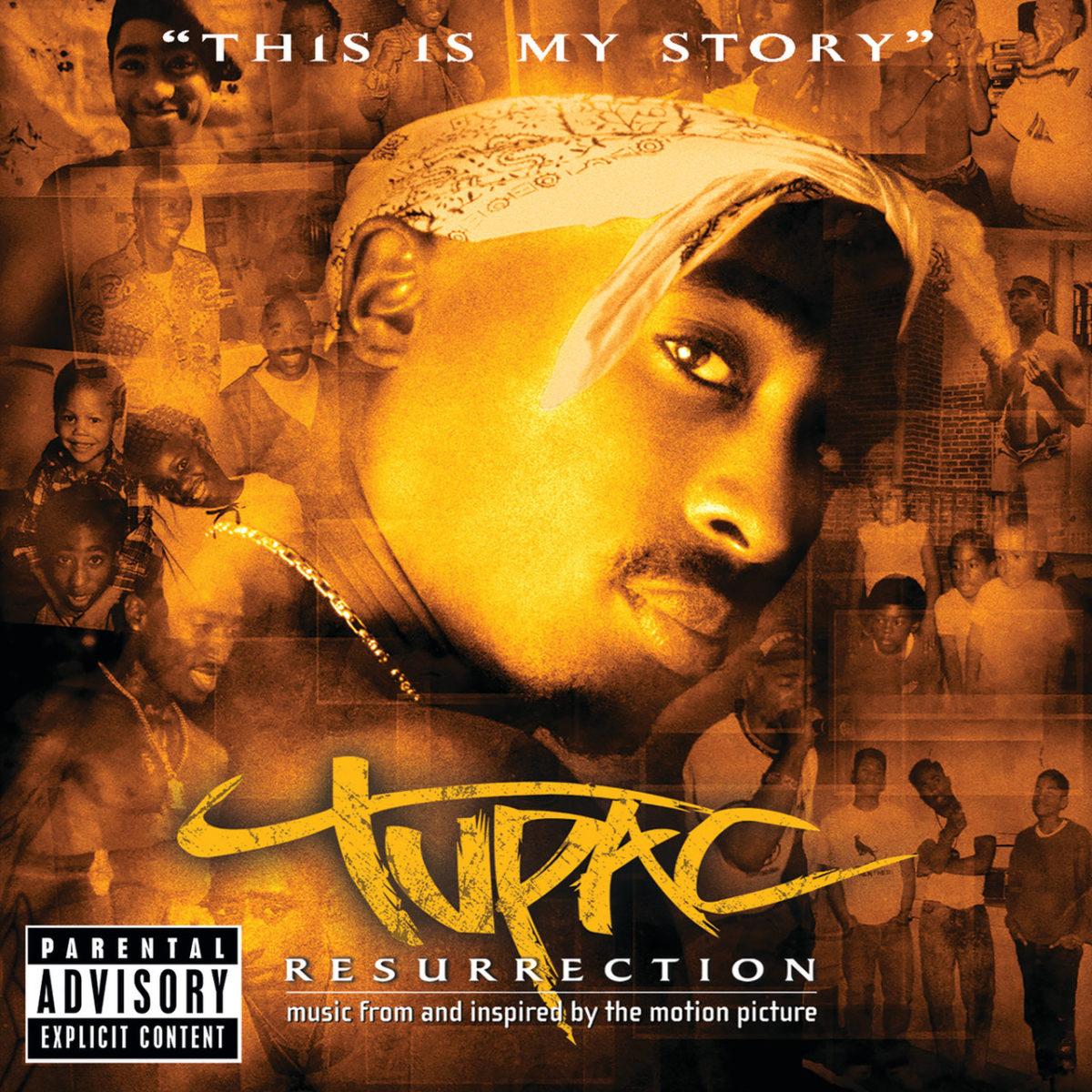 Tupac: Resurrection (Cover)