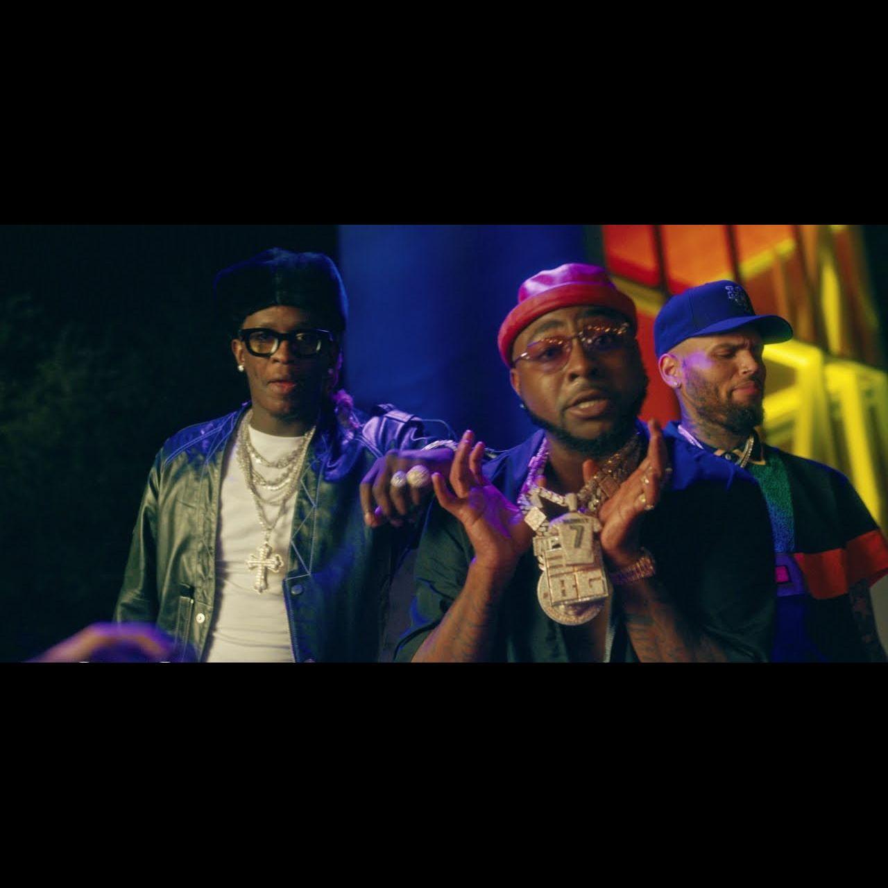 Davido - Shopping Spree (ft. Chris Brown and Young Thug) (Thumbnail)